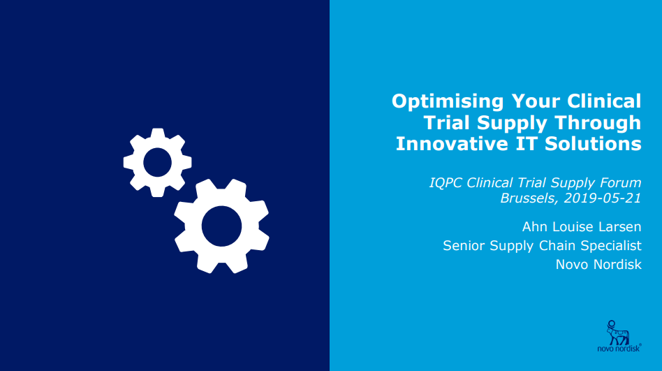Optimising Your Clinical Trial Supply Through Innovative IT Solutions