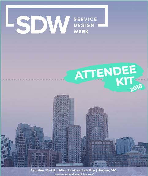 2018 Service Design Week Attendee Kit