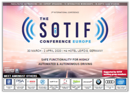 Agenda SOTIF Conference 2020