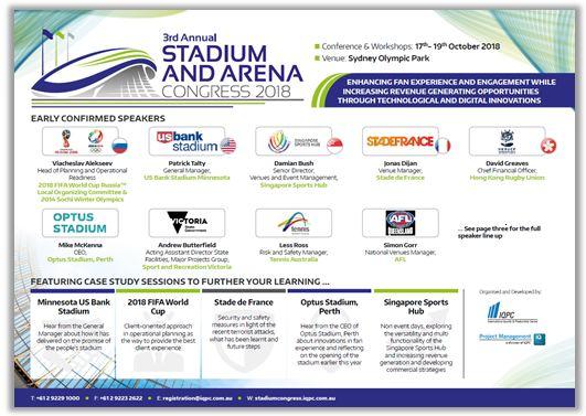 Download the 2018 Stadium & Arena Congress Agenda