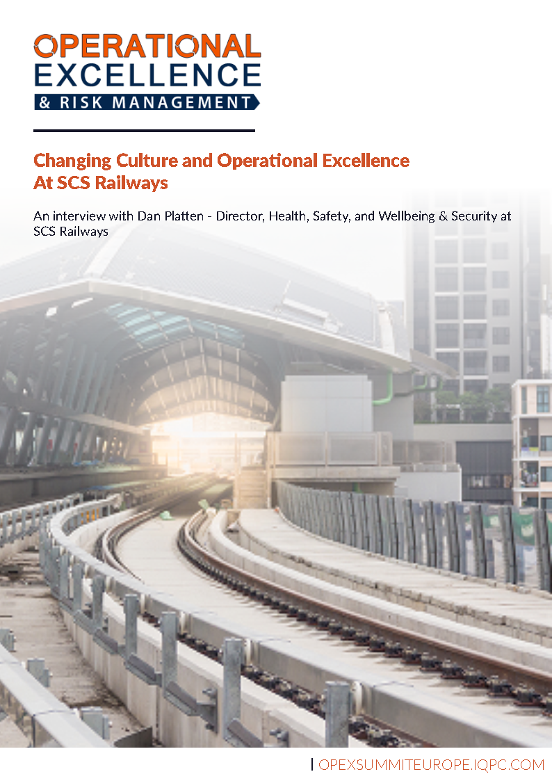 Changing Culture and Operational Excellence At SCS Railways