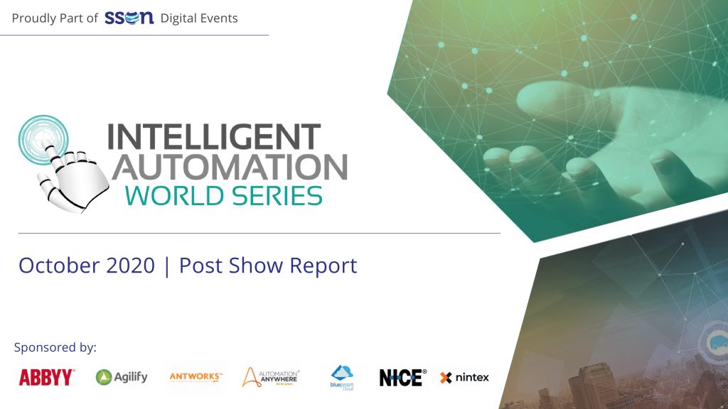 IA World Series: October 2020 - Post Show Report