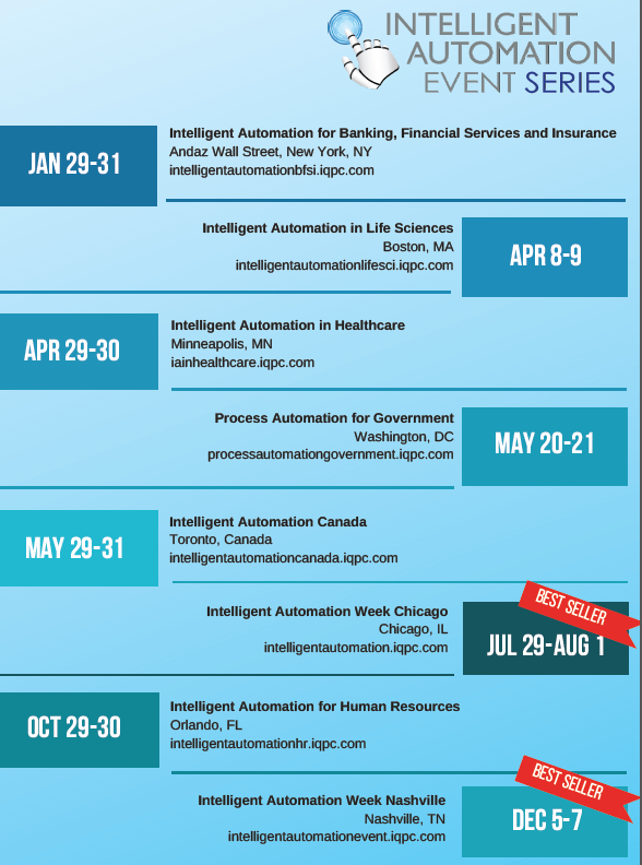 Intelligent Automation Event Series