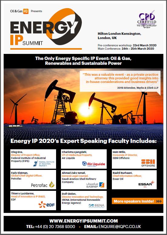 Energy IP 2020 Agenda