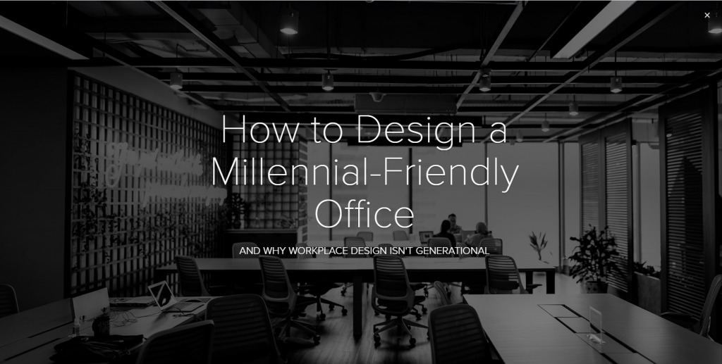 How to Design an Office Millennials will Love