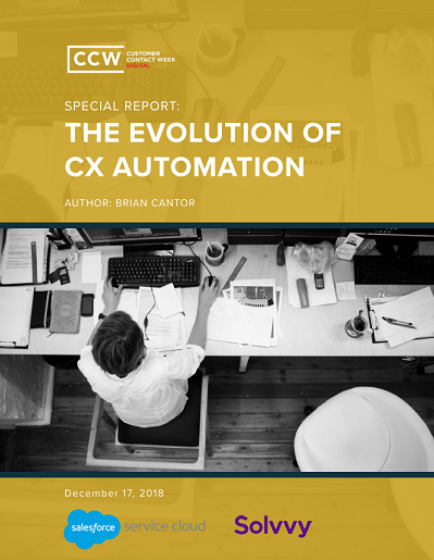 The Evolution of CX Automation