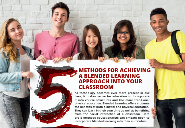 5 Methods For Achieving A Blended Learning Approach Into Your Classroom [For Sponsors]