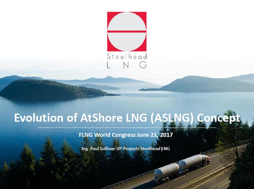 Evolution of AtShore LNG (ASLNG) Concept