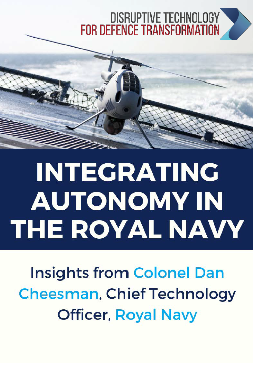 Integrating autonomy in the Royal Navy