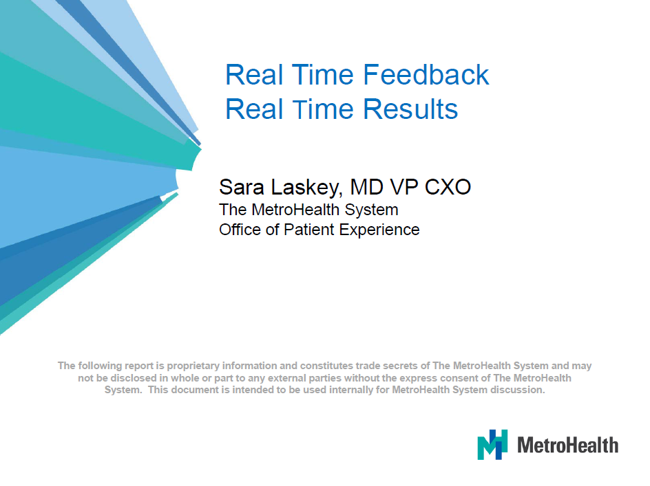 Sara Laskey: Real Time Feedback Real Time Results