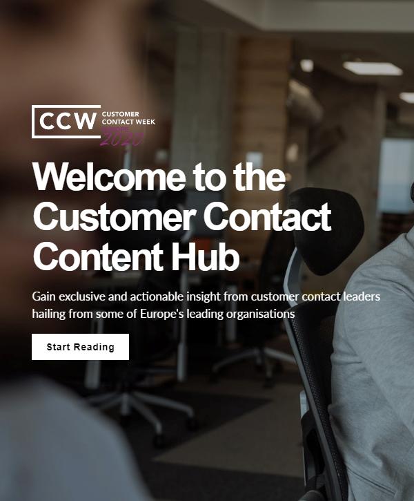 Customer Contact Content Hub 2020