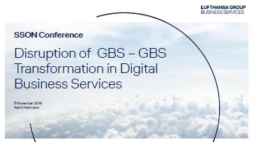 Presentation: Wie verändert Lufthansa Global Business Service durch digitale Transformation?