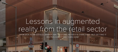 Lessons in augmented reality from the retail sector