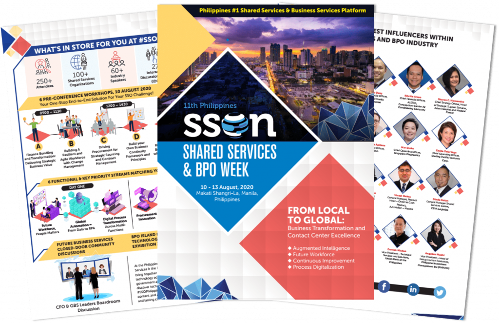 View 11th Philippines Shared Services and BPO Week Agenda