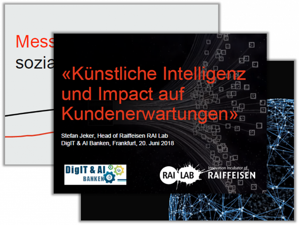 Innovation Incubator of Raiffeisen: Künstliche Intelligenz und Impact auf Kundenerwartungen