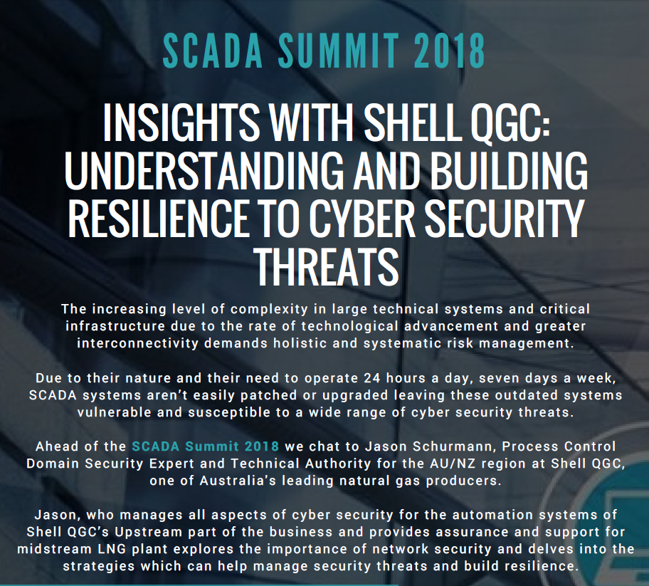 Insights with Shell QGC: Understanding and Building Resilience to Cyber Security Threats