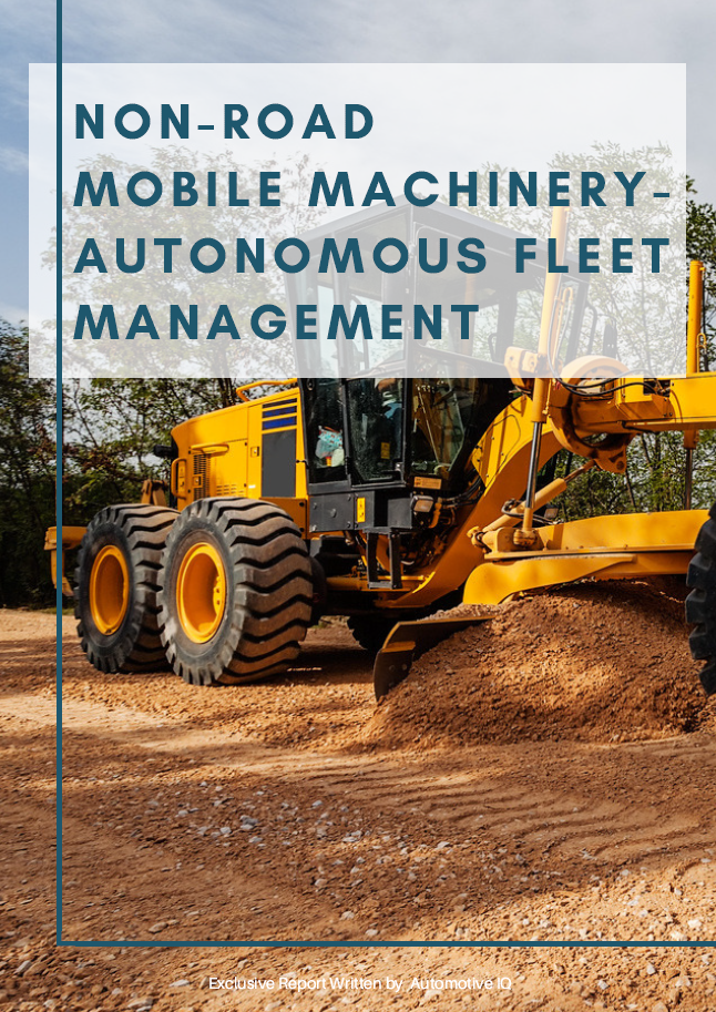 Report on Non-Road Mobile Machinery - Autonomous Fleet Management