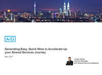 Generating Easy, Quick Wins to Accelerate Up your Shared Services Journey