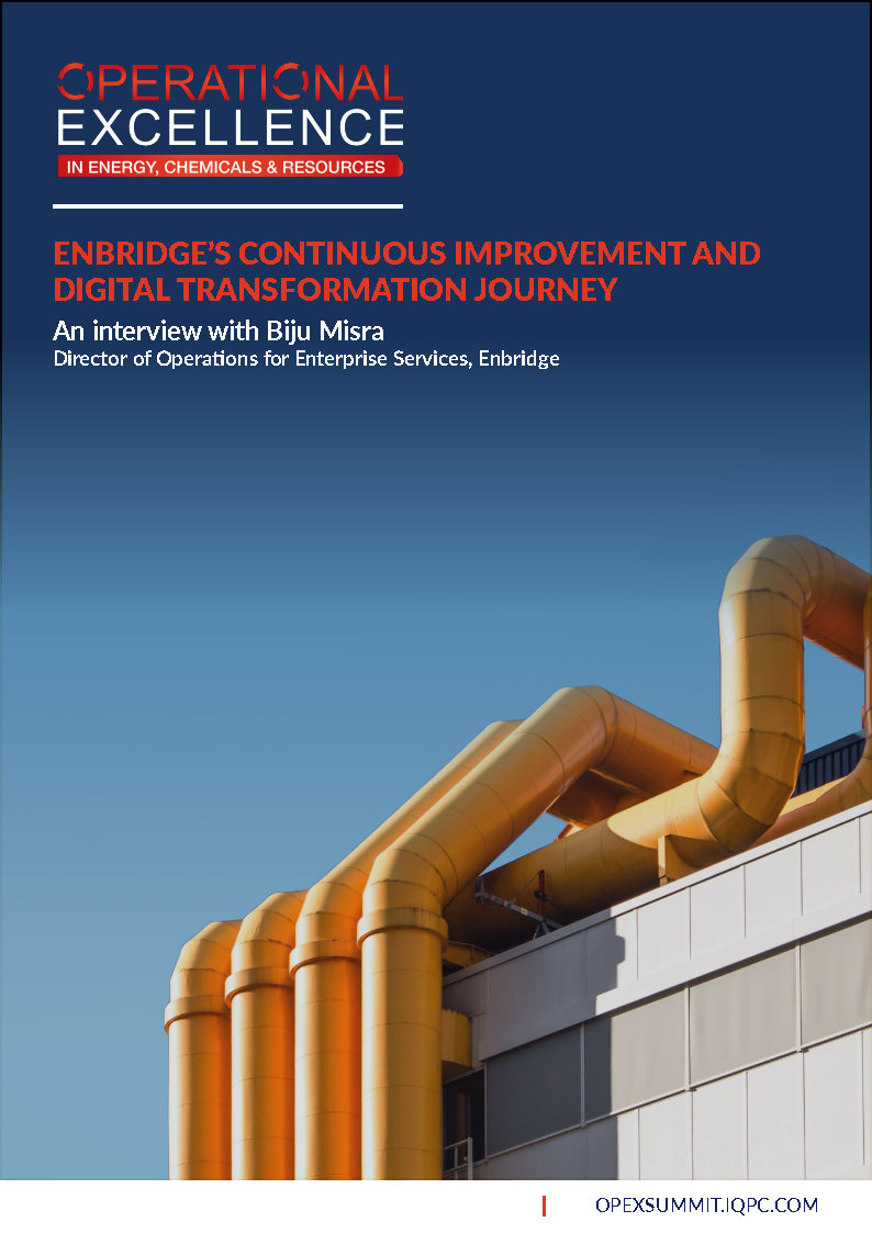 Enbridge's Continuous Improvement and Digital Transformation Journey