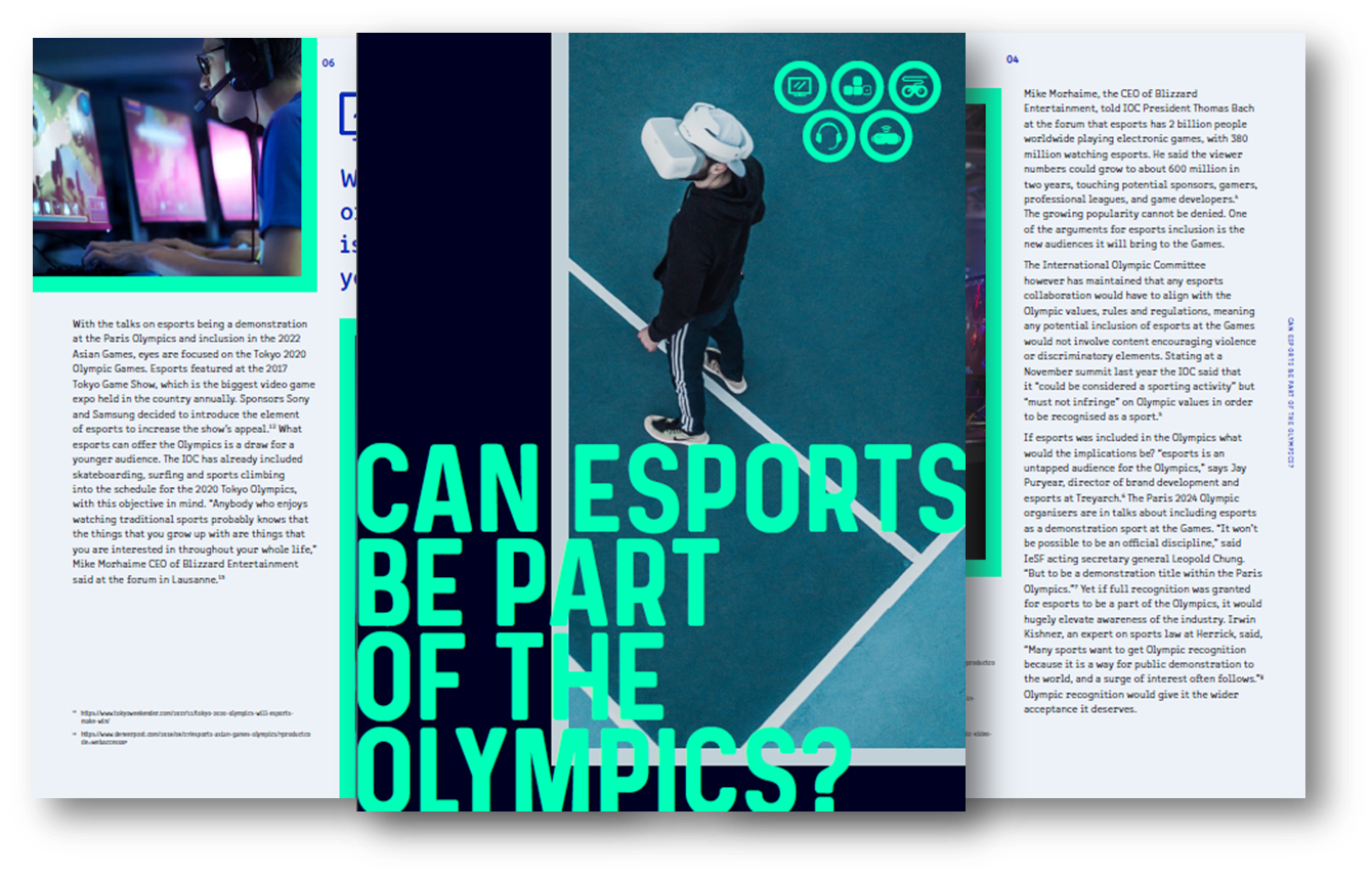 Can esports be a part of the Olympics