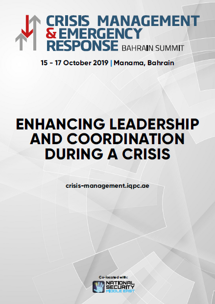 Full Agenda: Crisis Management & Emergency Response Summit