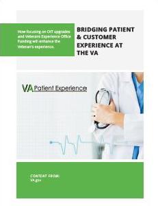 Bridging Patient & Customer Experience at Veterans Affairs (VA)