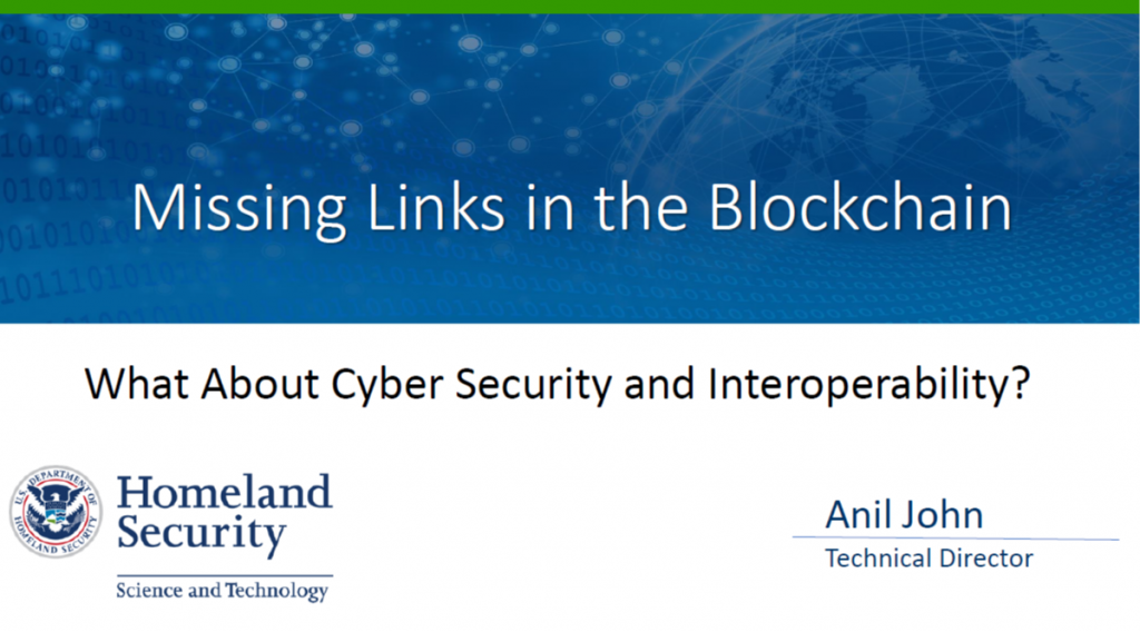 Are Cybersecurity and Interoperability the Missing Links in the Blockchain?