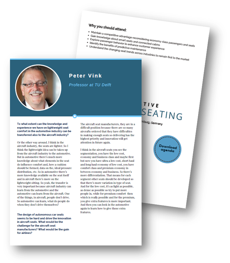 Download the exclusive interview with Peter Vink from TU Delft