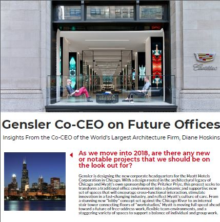 Gensler's Co-CEO on the Future of Office Design: A Conversation with Diane Hoskins