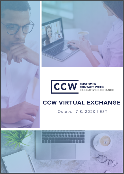 View Full Event Agenda | CCW Virtual Exchange October 2020