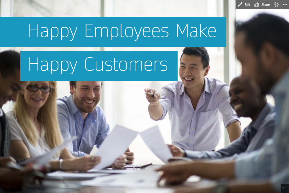 Happy Employees Make Happy Customers