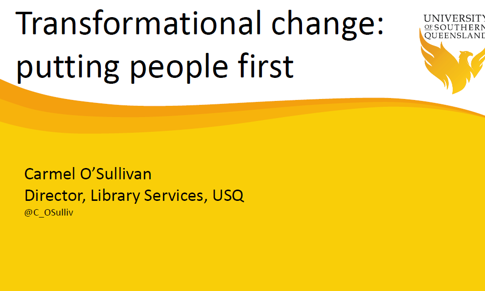 Achieving Genuine Buy-in to Transformational Change – A Case Study