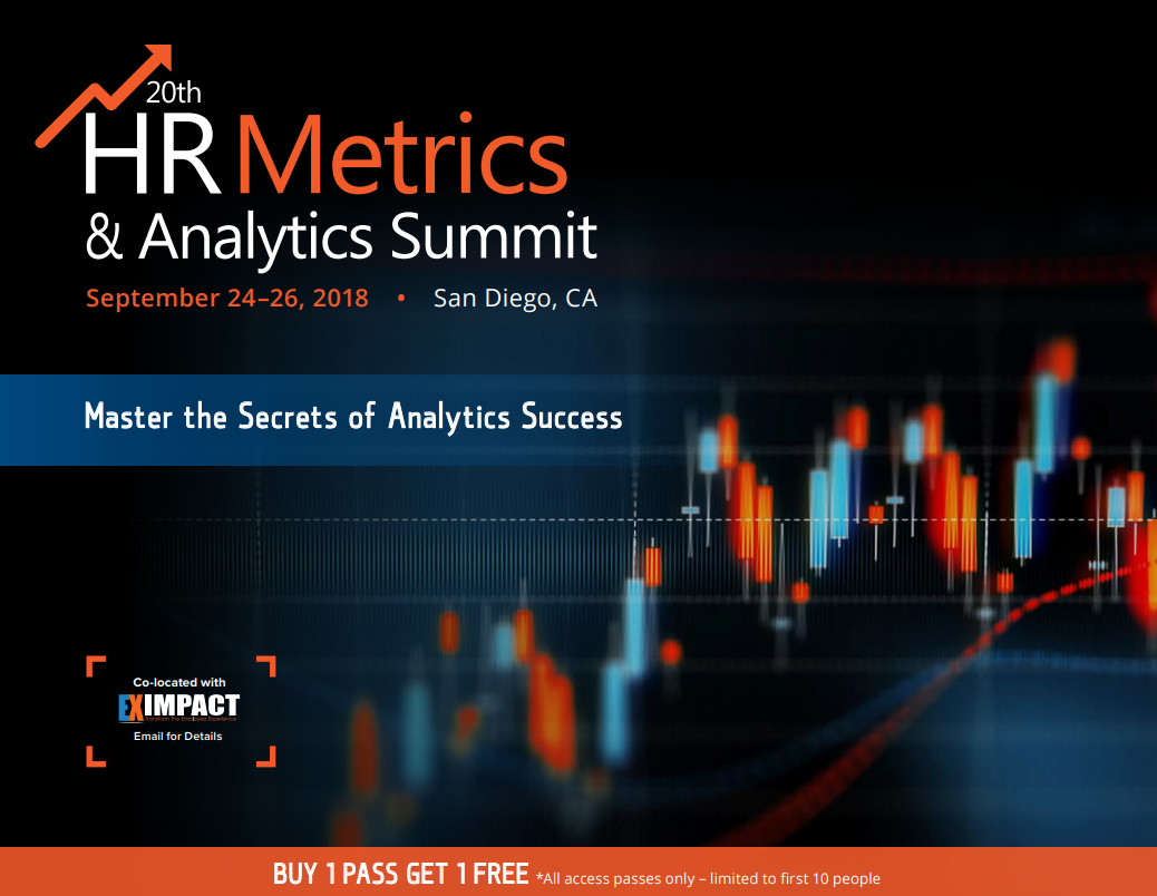 20th HR Metrics & Analytics Summit - Check out the Agenda!