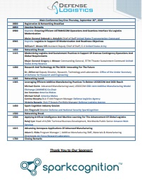 Defense Logistics Summit Onsite Agenda