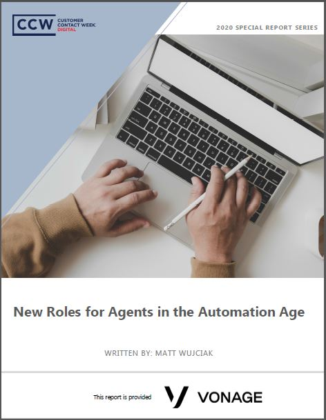 Special Report: New Roles for Agents in the Automation Age
