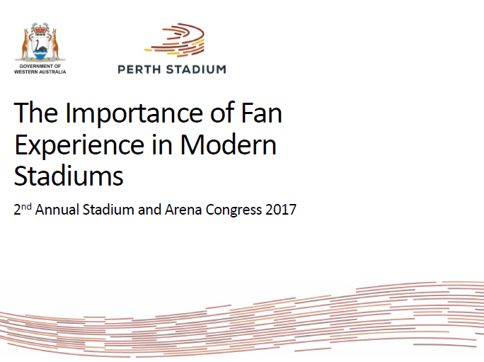 Perth Stadium – The Importance of Fan Experience in Modern Stadiums