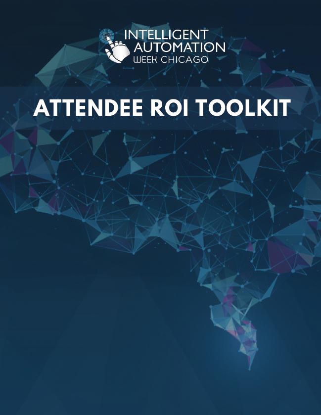 IA Week Chicago Attendee ROI Toolkit