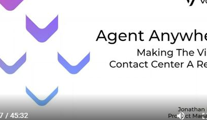 Agent Anywhere - Making the Virtual Contact Centre a Reality