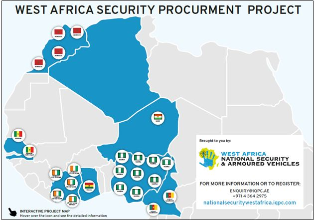 Investment Opportunities - West Africa National Security Procurement Map