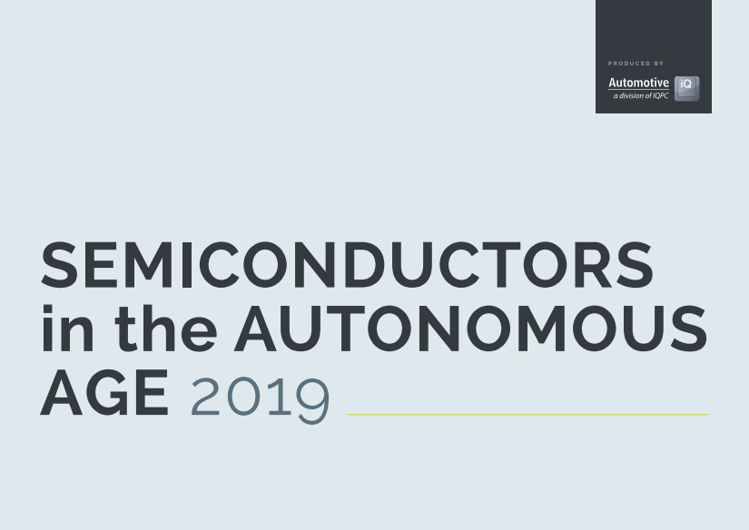 Semiconductors in the Autonomous Age Report