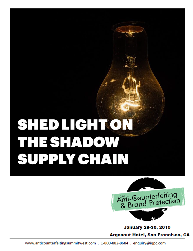 Shed Light on the Shadow Supply Chain for Counterfeiting