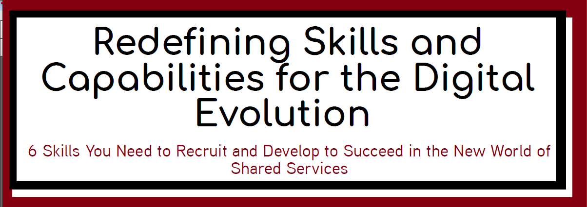 Redefining Skills and Capabilities for the Digital Evolution
