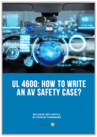 Article: How to write an AV Safety Case with UL 4600?