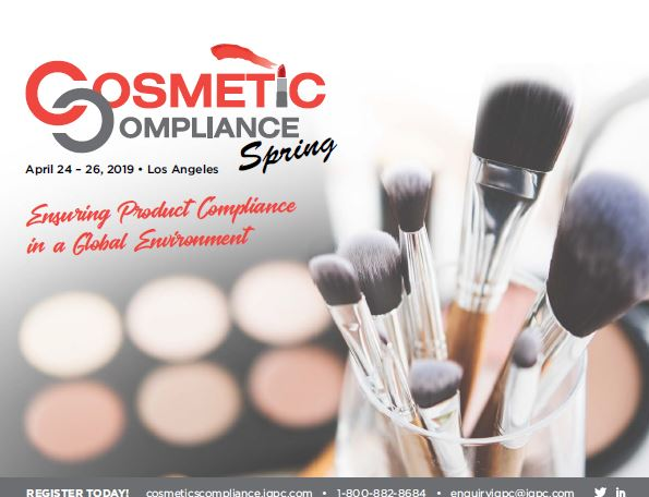 Cosmetic Compliance Official Event Packet