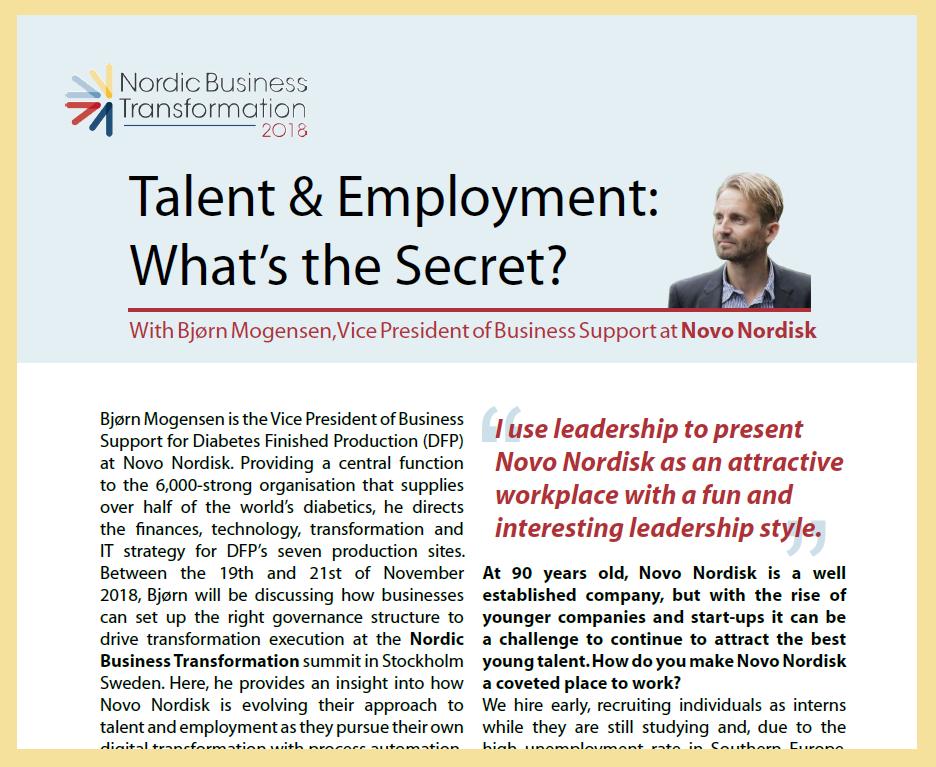 Talent & Employment: What's The Secret?