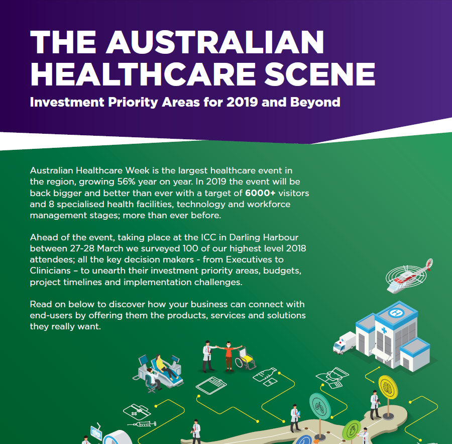 The Australian Healthcare Scene: Investment Priority Areas for 2019 and Beyond
