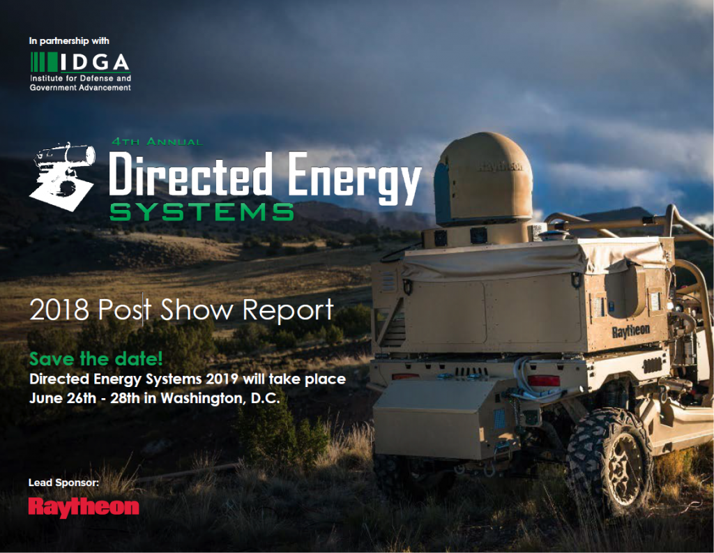 2018 Directed Energy Systems Post Show Report