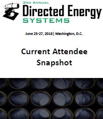 Directed Energy Systems Current Attendee Snapshot