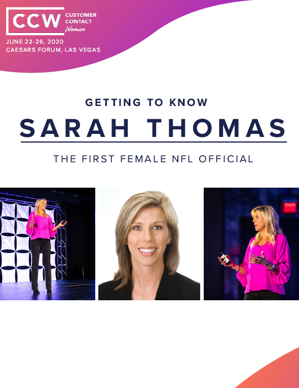 Getting to Know Sarah Thomas, The First Female NFL Official