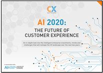 AI 2020: The future of customer experience